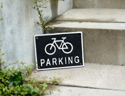 アイアンサイン Bicycle Parking