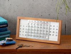 WOODEN 万年カレンダー